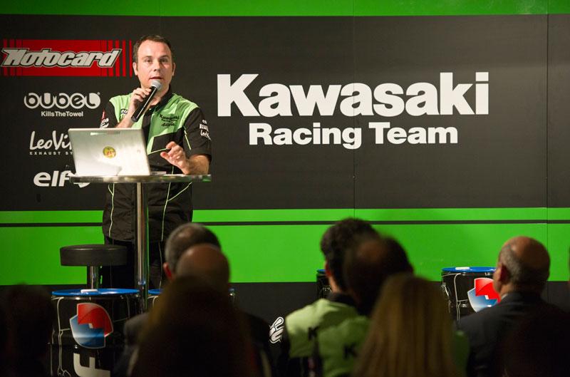 Kawasaki Racing Team SBK, presentado
