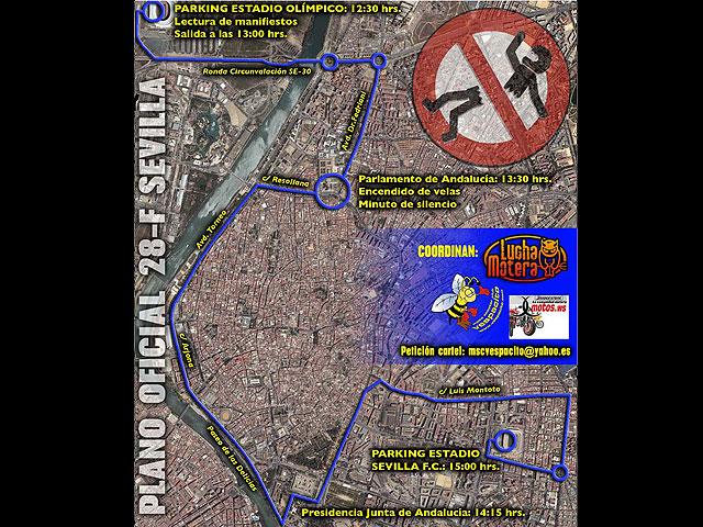 El 28 de febrero, manifestación andaluza