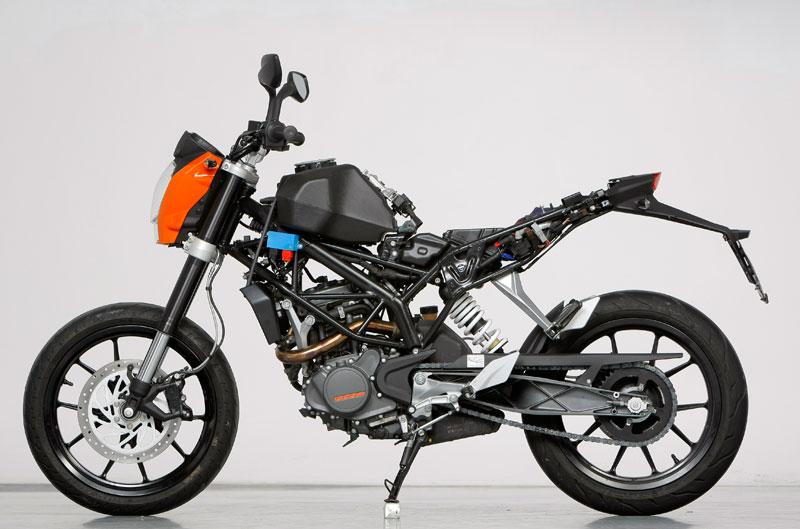 Comparativa: Honda CBR250 R ABS, KTM 200 Duke y Suzuki InazumaComparativa: Honda CBR250 R ABS, KTM 200 Duke y Suzuki Inazuma