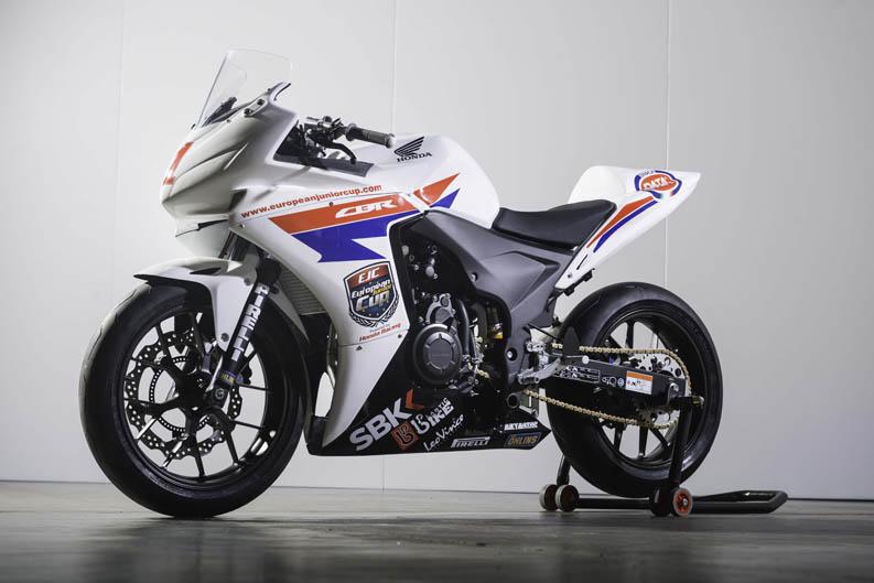 Honda CBR500R. Galería de fotos