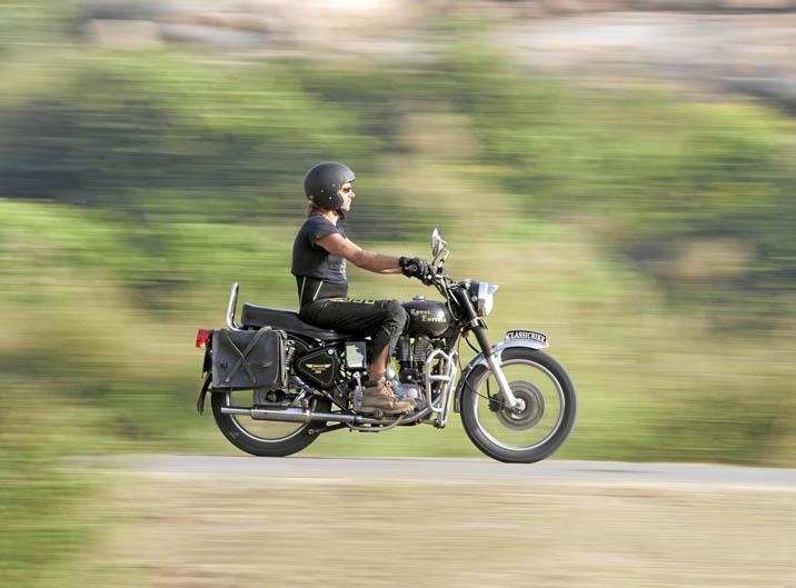 Viaje en moto por el sur de India