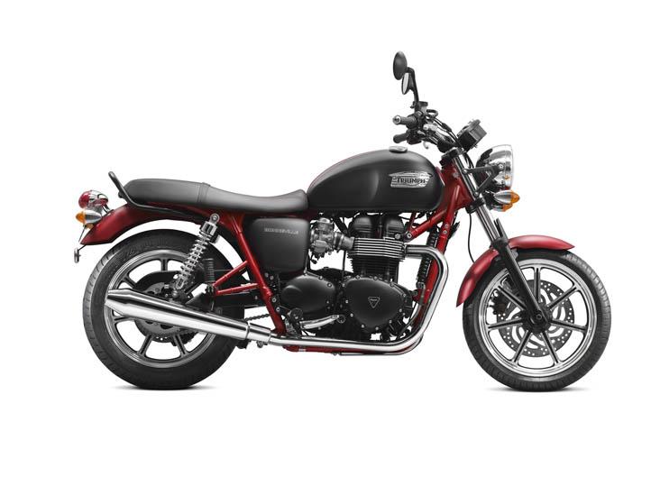 Modelos exclusivos de Triumph Boneville y Speed Triple. Galería de fotos