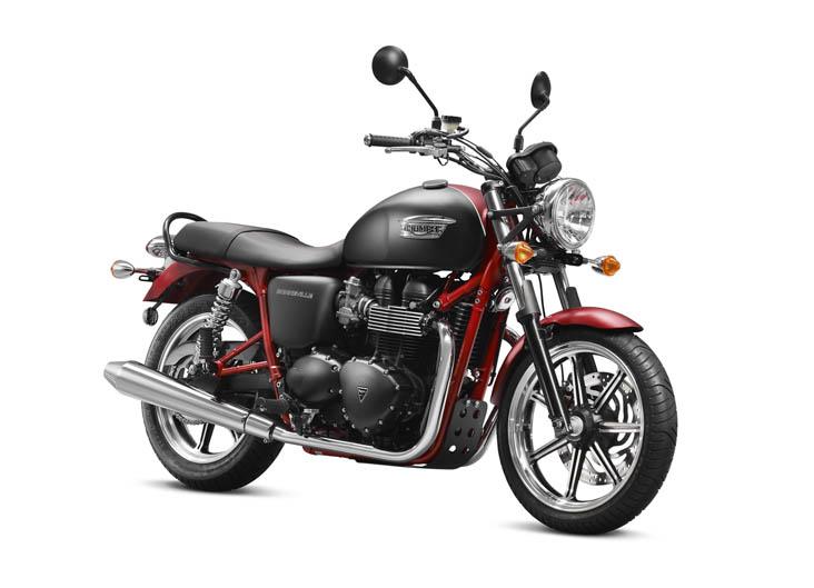 Modelo exclusivo Triumph Boneville