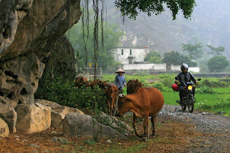 Viajar en moto: Vietnam. Galería de fotos