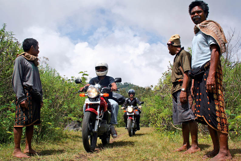 Viajar en moto: Indonesia