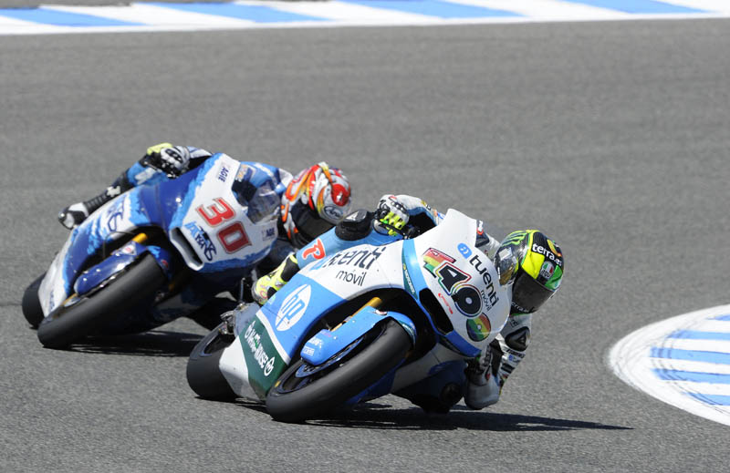 GP España de Moto2. Jerez 2013