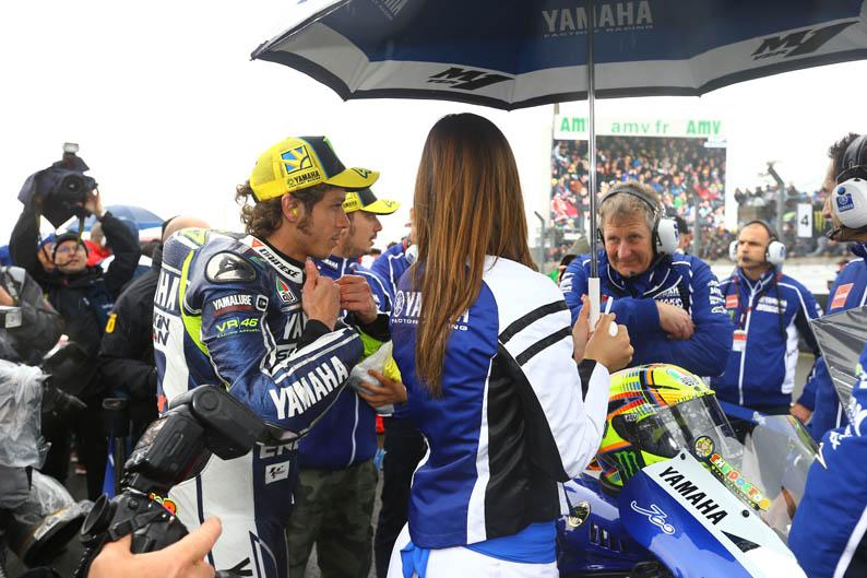 Valentino Rossi. GP Francia MotoGP 2013