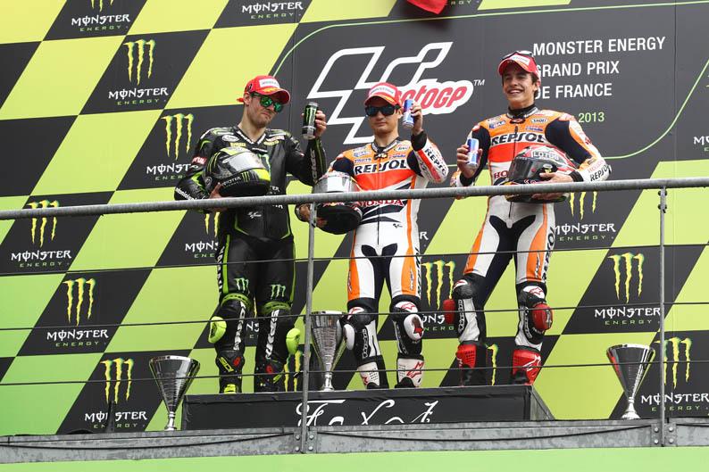 Podio. GP Francia MotoGP 2013
