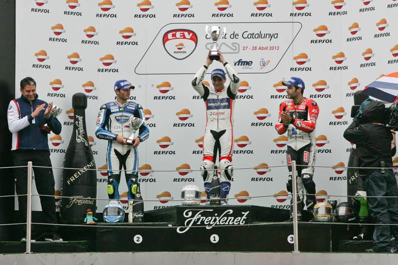 CEV Repsol en Montmeló. 1ª prueba. Categoría Moto2