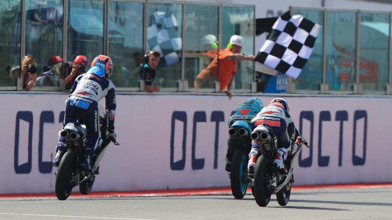 ¿Qué piloto ha ganado dos veces en Misano en Moto3?