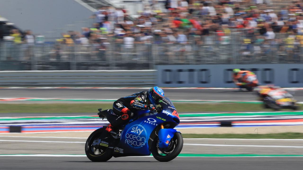 ¿Quién ganó la primera carrera de MotoGP en Misano en 2007?