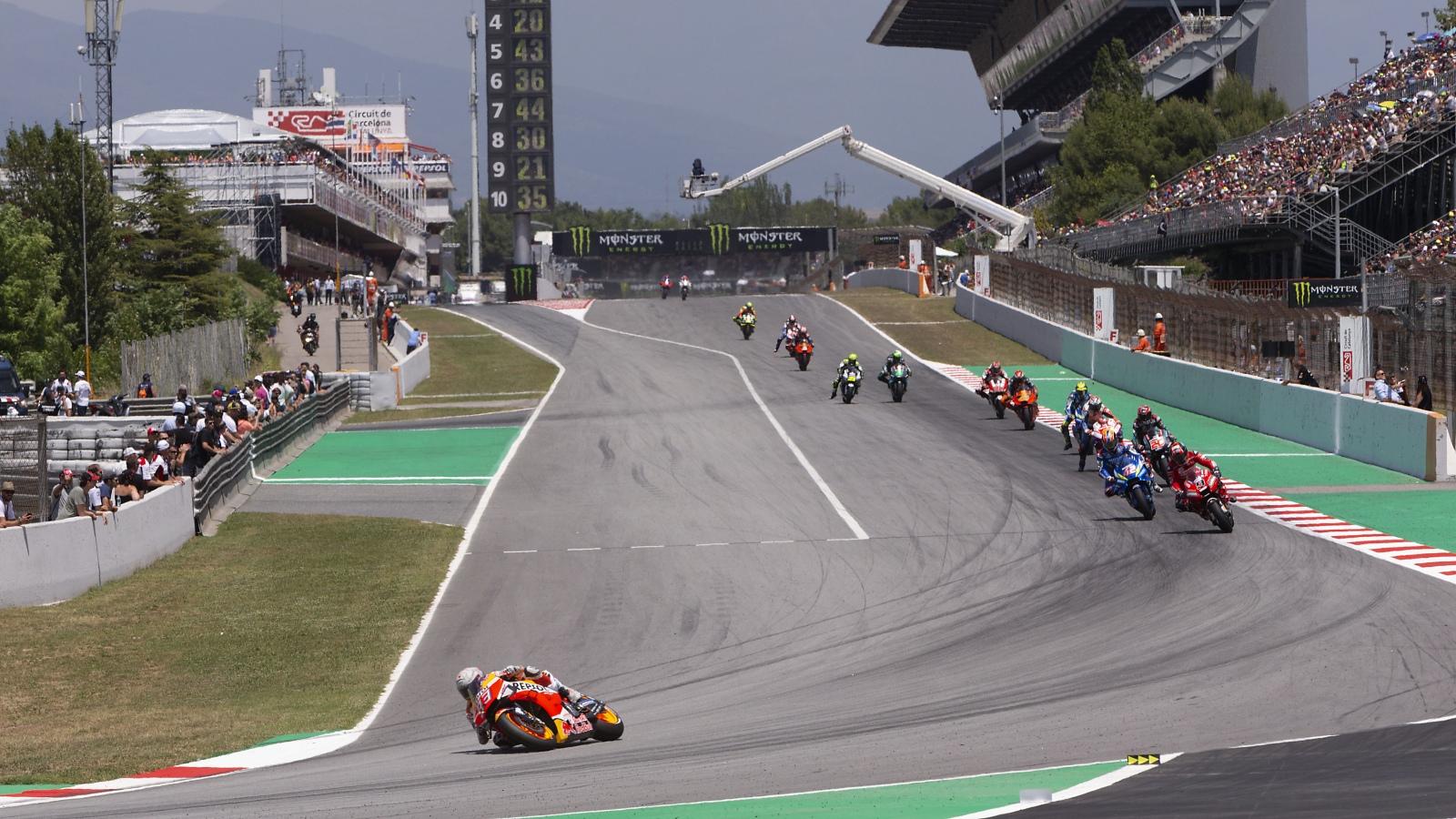 ¿Cuántas vueltas ha liderado hasta el GP de Tailandia?