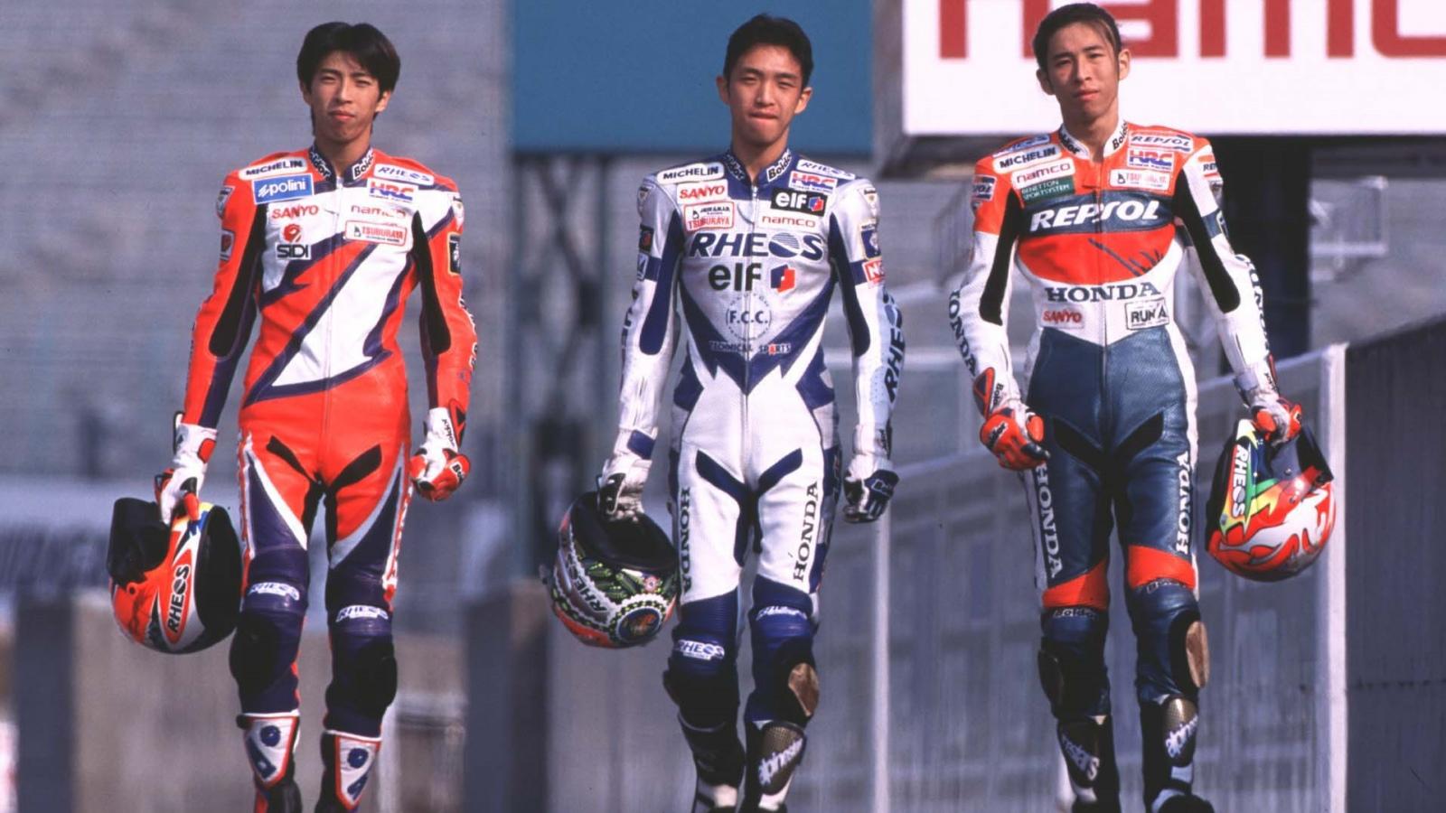 En Suzuka 1995 se produjo un hito histórico cuando los tres hermanos Aoki subieron al podio. ¿Cómo se llamaban?